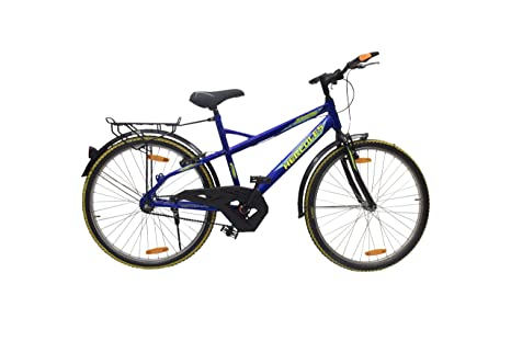 Hercules Storm RF 26T Single Speed Adult Cycle Black/Light Blue  Cycles