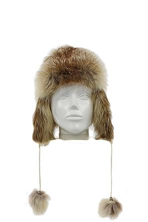 Bonnet Renard 100 Homme Femme Chapka Fourrure Amazon taupe Russe qptOHZf