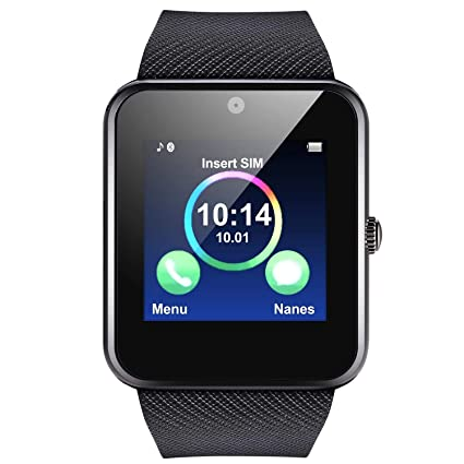 Burlady Smartwatch, Reloj Inteligente Android,Pulsera Actividad Inteligente para Deporte, Reloj Iinteligente Hombre