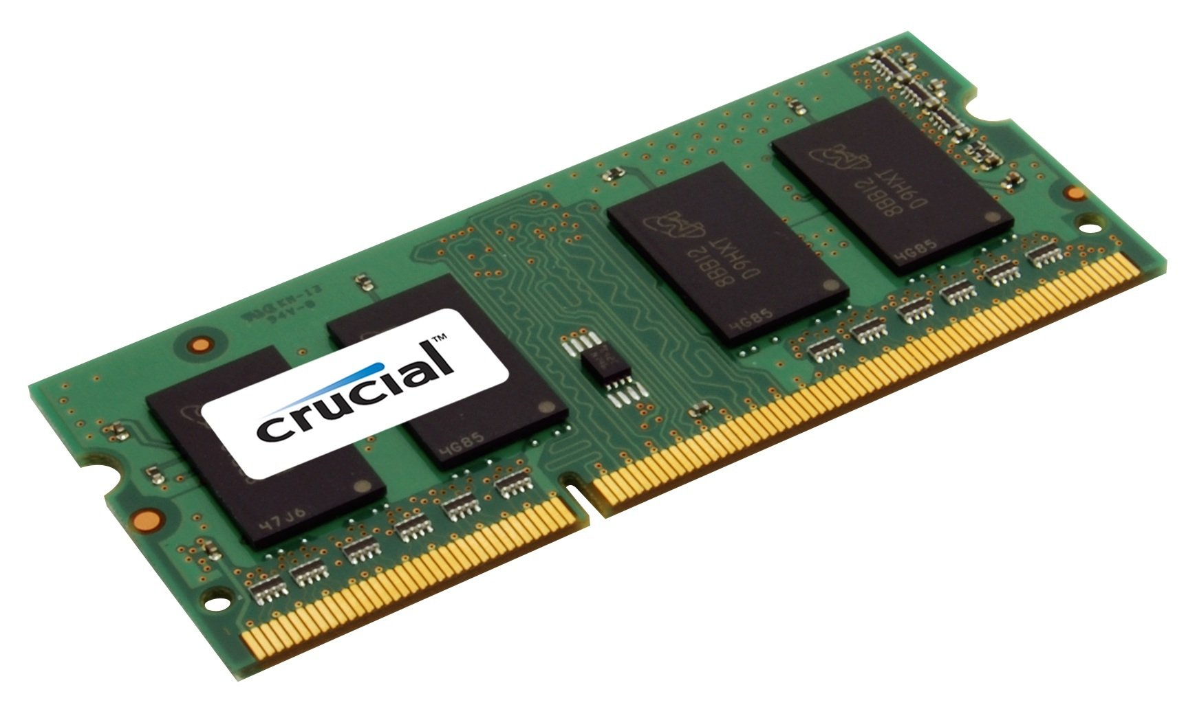 Crucial 4GB DDR3 1333 MT/s (PC3-10600) CL9 SODIMM 204-Pin CT51264BC1339 by Crucial