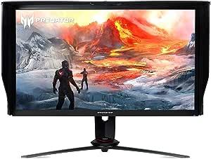 "Acer Predator XB273K Gpbmiipprzx 27"" UHD (3840 x 2160) IPS NVIDIA G-SYNC Compatible Monitor with VESA Certified DisplayHDR 400, Quantum Dot, 144Hz, DCI-P3 , Delta E<1 (Display Port & HDMI Port),Black"