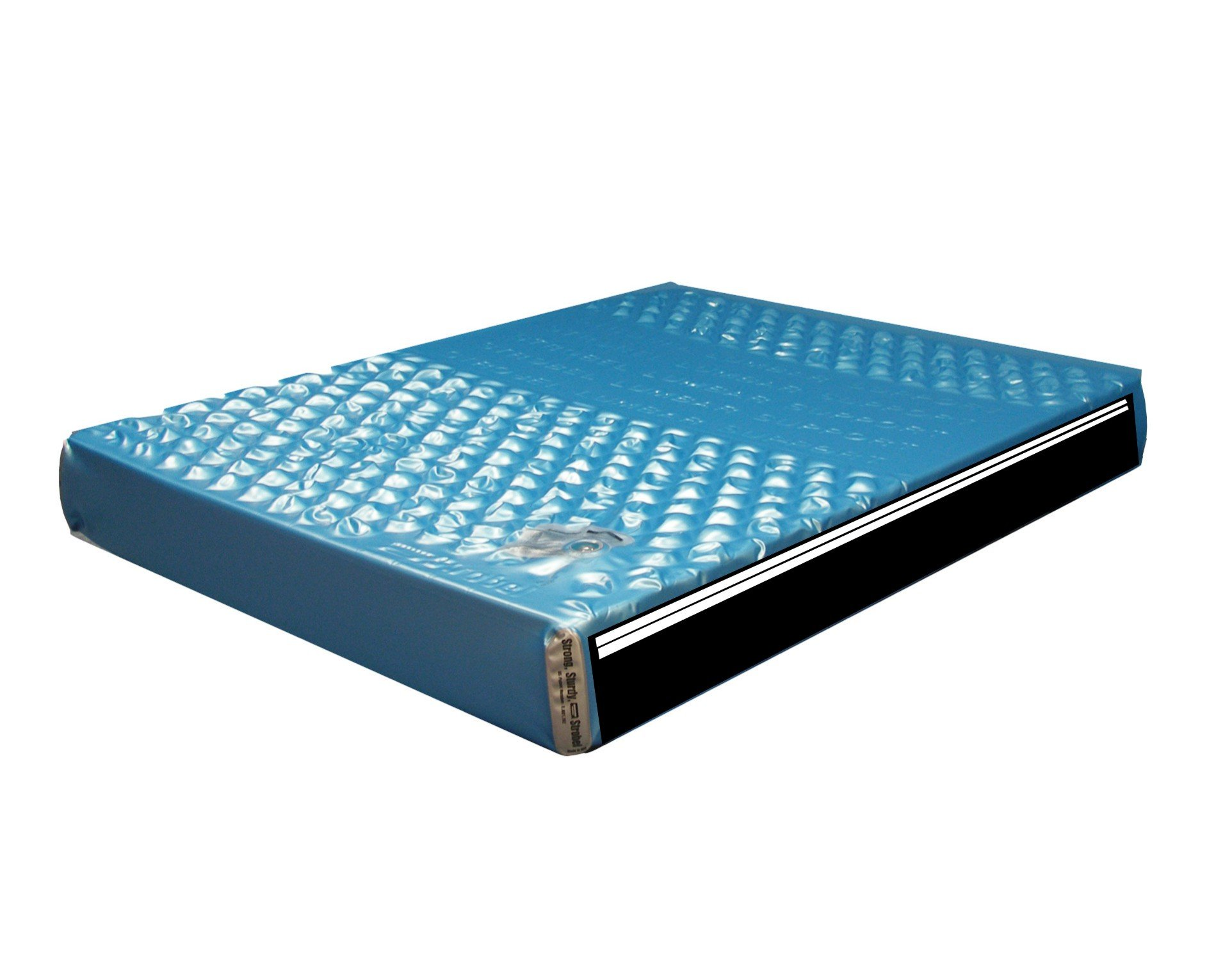 Strobel Organic Premium Hydro-Support 302 Waterbed Mattress 2 Layer Waveless King by Strobel Organic