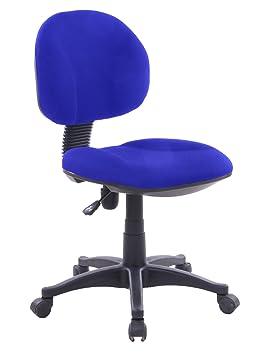 EUROSILLA Lisa Chaise De Bureau Bleu 85 X 48 62 Cm