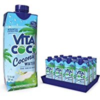 Vita Coco - Pure Coconut Water (330ml x 12) - Naturally Hydrating - Packed With Electrolytes - Gluten Free - Full Of…