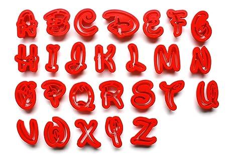 Disney letra Alfabeto   letras mayúsculas   para decoración de tartas de fondant o galletas