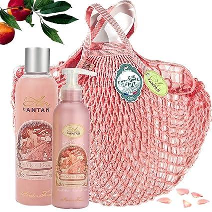 Un Air dAntan Caja Belleza Rose Mujer,1 Gel de Ducha 250ml ...