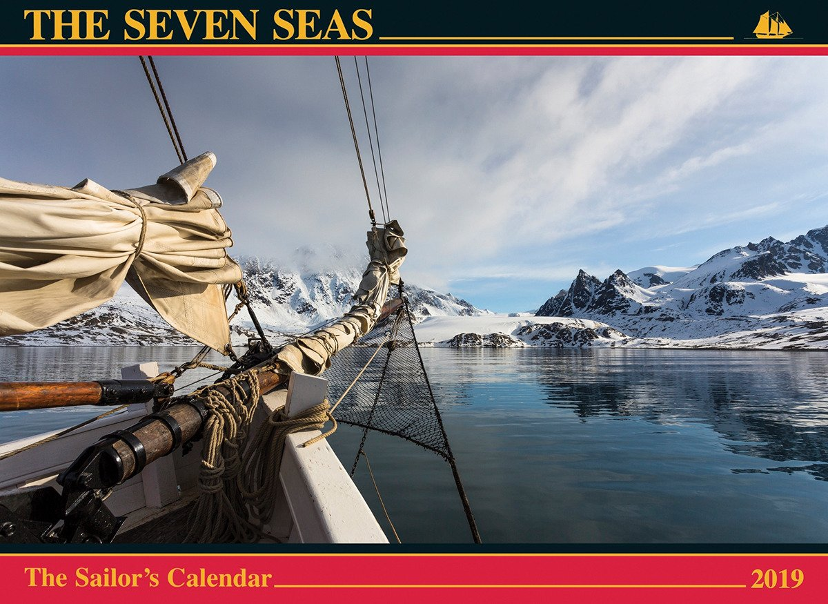 Amazon.com: The Seven Seas Calendar 2019: The Sailor's Calendar  (9780920256916): Ferenc Máté: Books