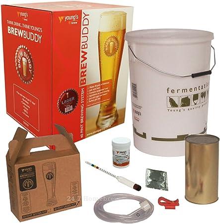 Youngs Brew Buddy Kit de Inicio para Hacer Cerveza Artesanal: Amazon.es: Hogar