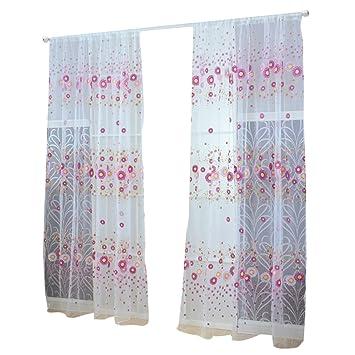 funbase Sonnenblume Stoff Fenster Vorhang gedruckt isoliert Vorhänge ...