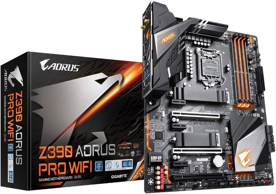 Gigabyte Z390 Aorus Pro WiFi - Placa de base, color negro