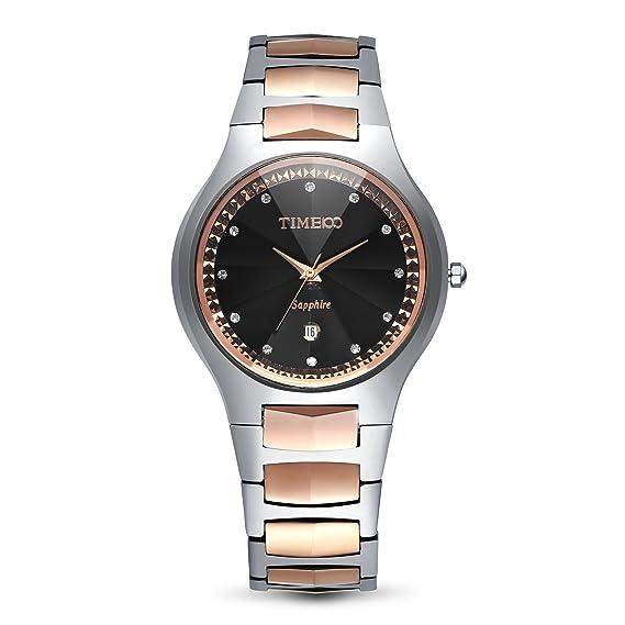 a67cb2fd965c Time100 Reloj para Hombres  Amazon.es  Relojes