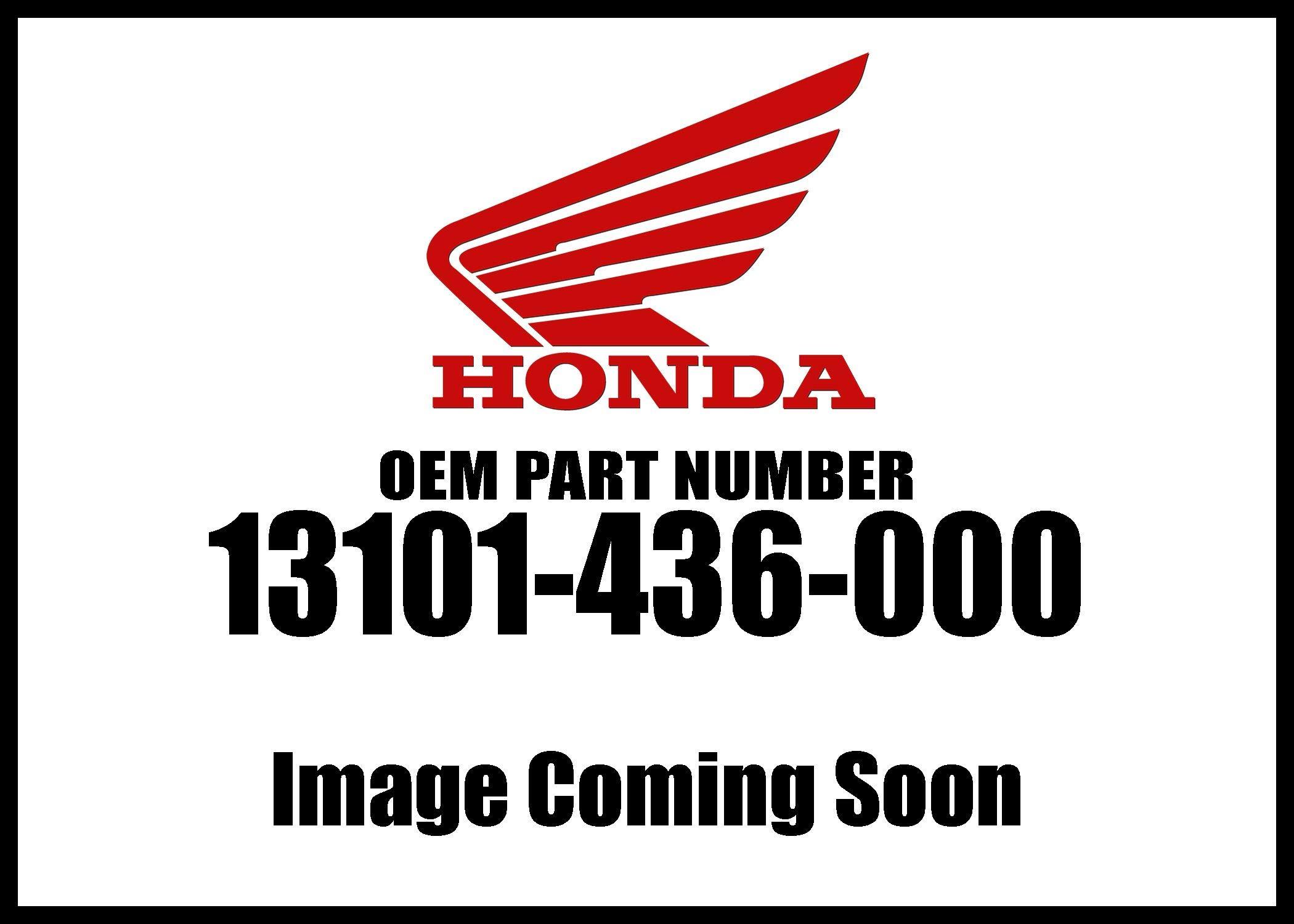 Honda 1979-2000 Xr Piston Std 13101-436-000 New Oem