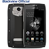 Rugged Smartphone 4G, Blackview BV7000 PRO IP68 Mobile Phones Unlocked 5.0 Inches FHD 4GB RAM + 64GB ROM 13MP&8MP Cameras Android 6.0 Waterproof / Shockproof / Dustproof MT6750T Octa Core Dual SIM Dual Standby Fingerprint Tough Smartphone GPS-Grey
