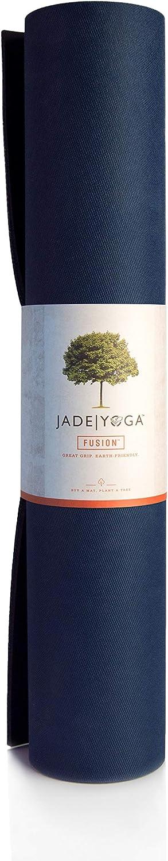 Jade Fusion 68-Inch x 5/16-Inch Yoga Mat (Midnight Blue)