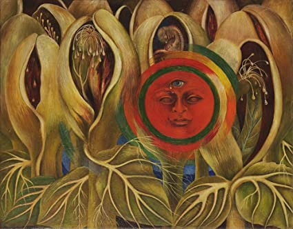 Kahlo de Rivera Sun And Life Giclee Canvas Print Paintings Poster Reproduction
