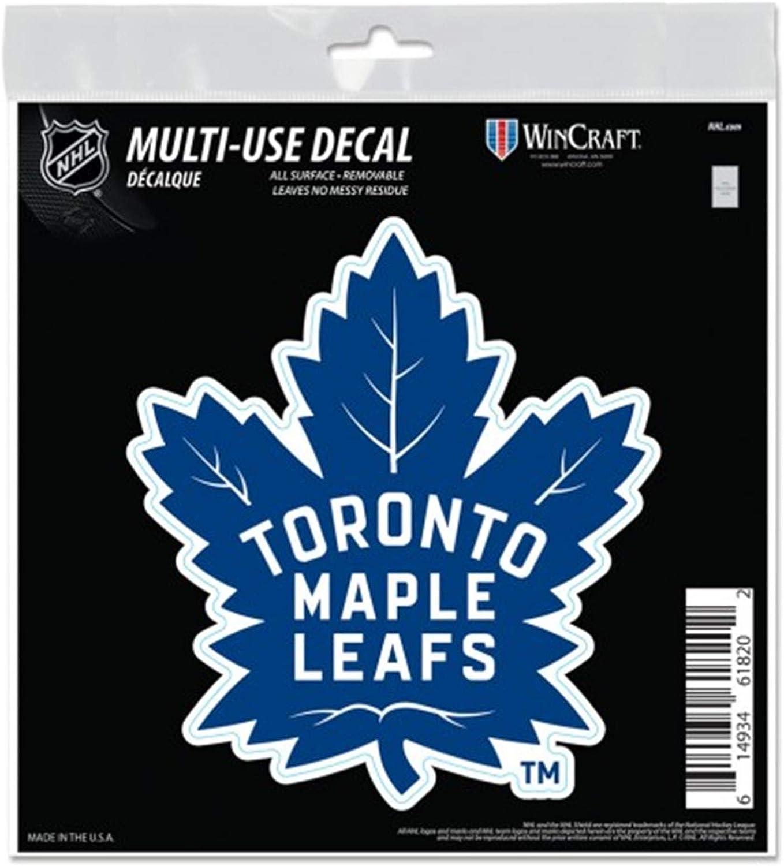 Amazon Com Toronto Maple Leafs 6 Decal Reusable Die Cut Logo Style Vinyl Auto Home Hockey Sports Outdoors