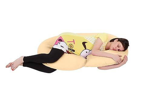 1b8018cfa1259 Momtobe Cotton And Fiber C Shape Maternity Pillow, Xl (Fuscia Pink ...