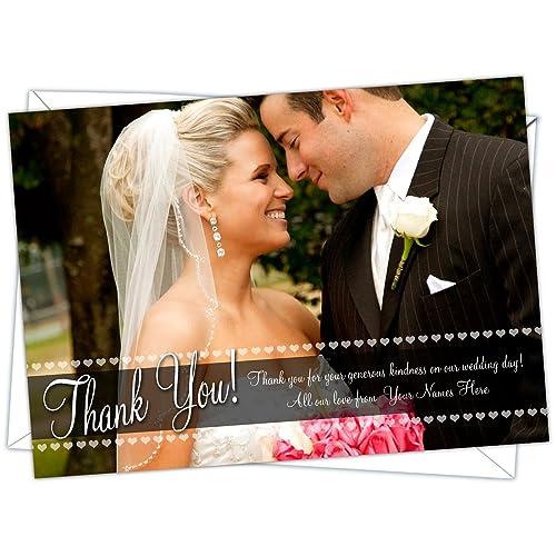 wedding thank you postcards amazon co uk