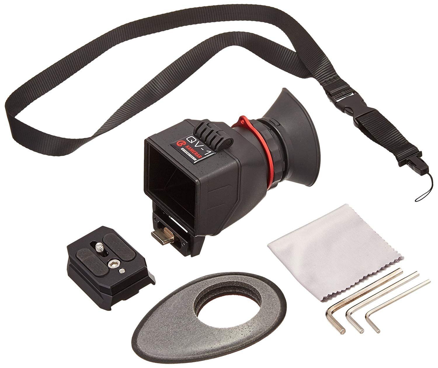 AUTHENTIC KAMARAR QV-1 M LCD VIEW FINDER FOR MIRRORLESS CAMERAS CANON T4I PANASONIC GH2 GH3 SONY A7 A7R by Kamerar