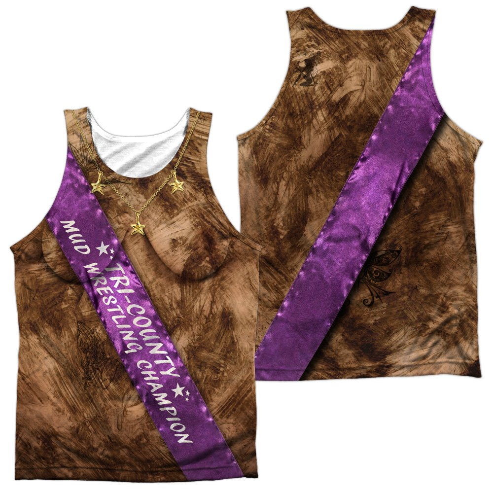 Mud Wrestling Champ Unisex Adult Sublimated Tank Top for Men and Women