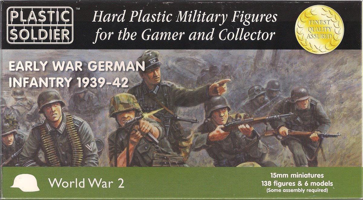 15mm WW2 Early War German Infantry 1939-42