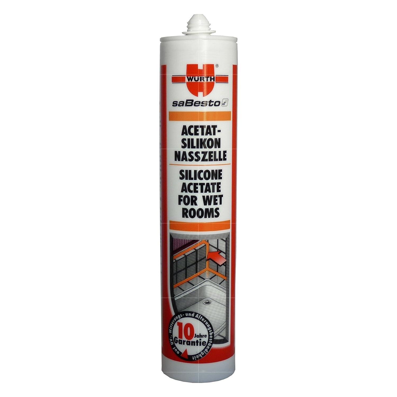 Würth – Acetato de silicona (310 ml)
