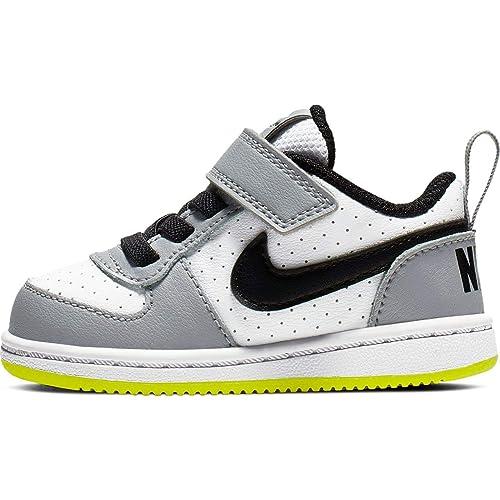 new style ae806 3b619 Nike Court Borough Low (TDV), Chaussons Mixte bébé: Amazon.fr: Chaussures  et Sacs