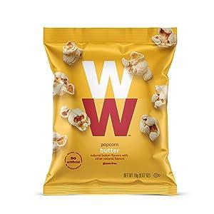 WW Butter Popcorn - Gluten-free, 2 SmartPoints - 12 Bags Total - Weight Watchers Reimagined