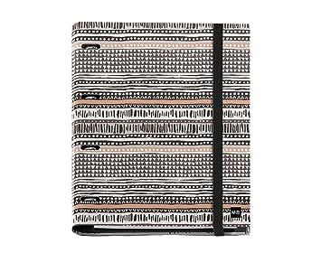 Miquelrius African Tribal - Carpeta bloc, 25 mm, A4