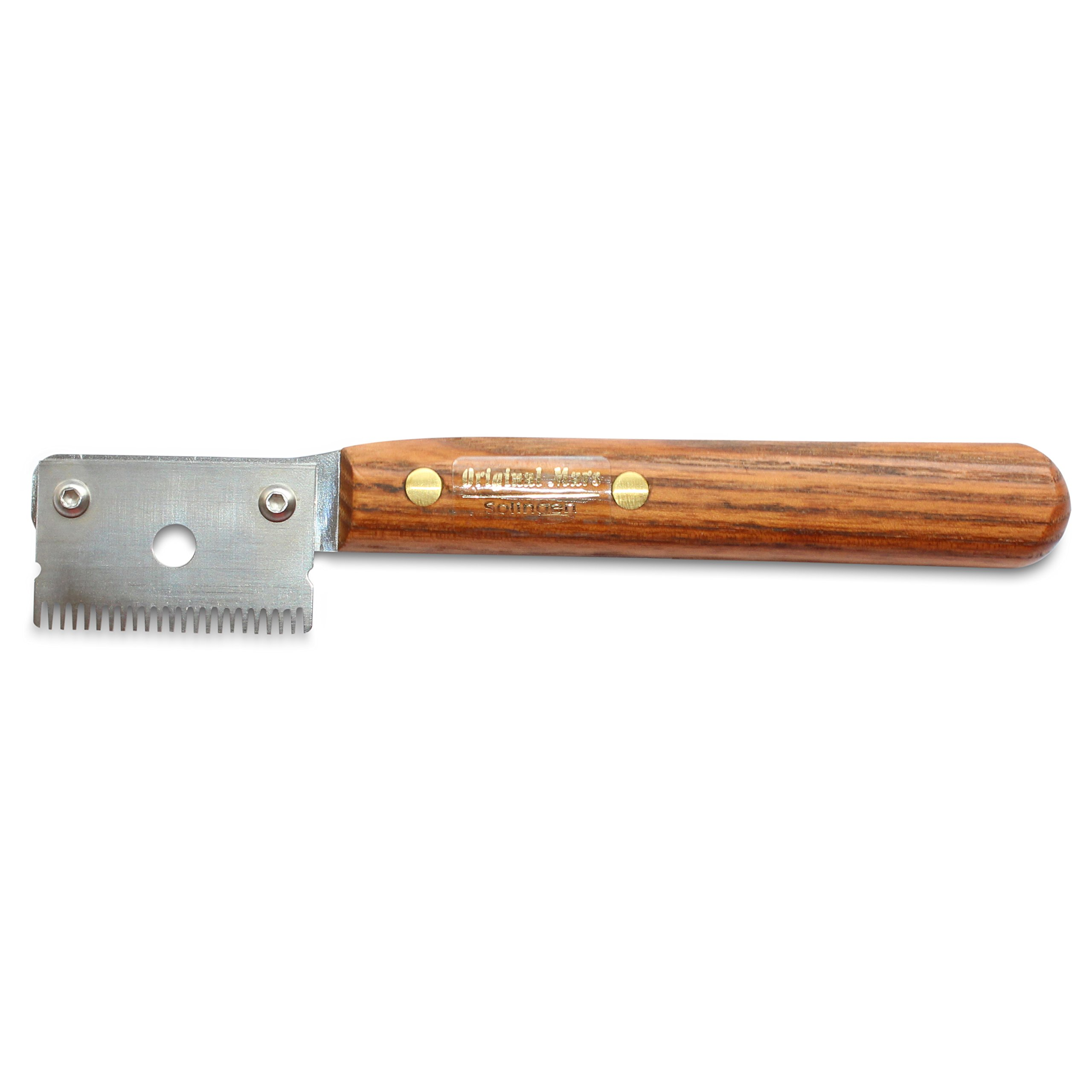Mars Professional Dog Stripping Knife Grooming Tool, Specialty Double Usage, Right-Handed, Medium