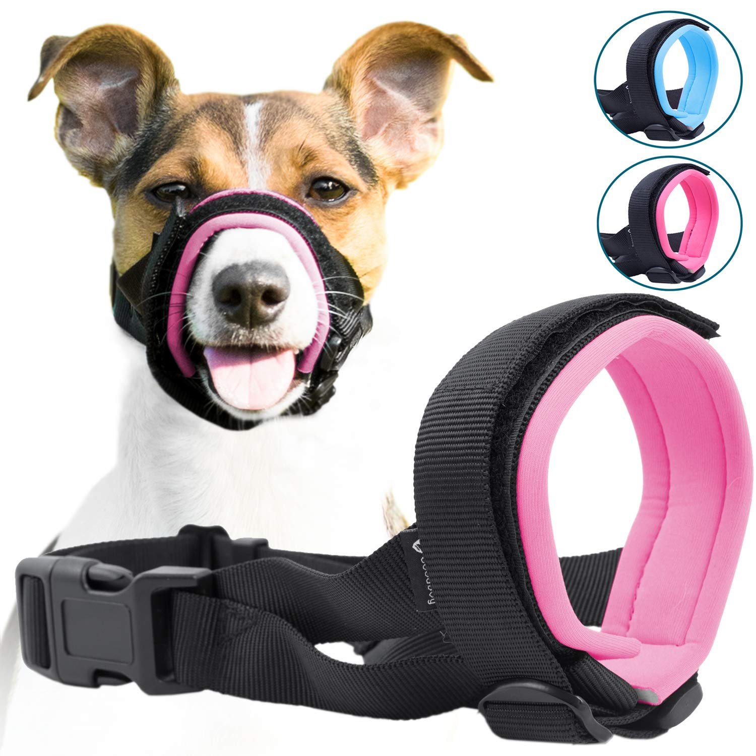 Gentle Muzzle Guard Dogs