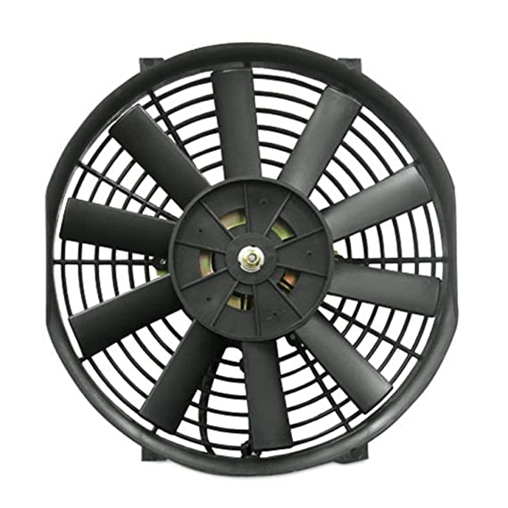 Amazon Com Mishimoto Slim Electric Fan 16 Automotive