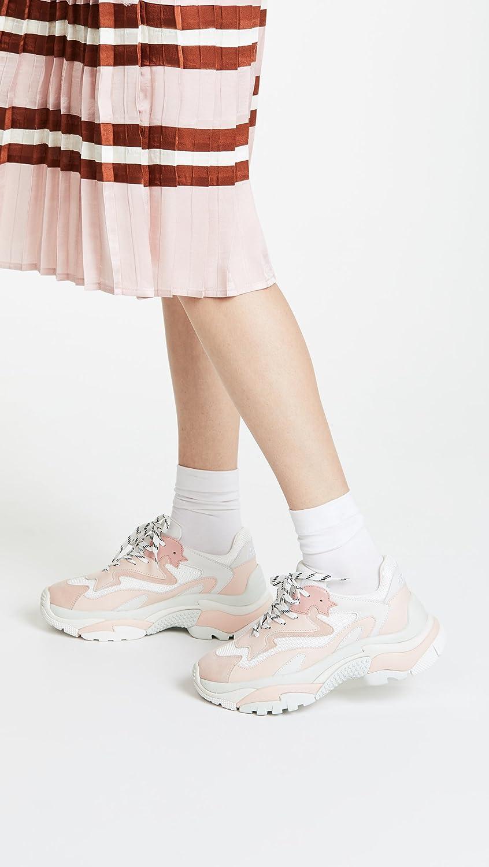 Ash Women's As-Addict Sneaker B07B9WYW3F 37 M EU (7 US) Dragon White/Blush