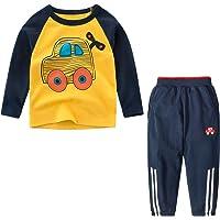 Yilaku Conjunto Deporte niño 2piezas Disfraz de Dinosaurio niño Sudaderas Camiseta fornite+Pantalon Chandal Ropa niño 2…