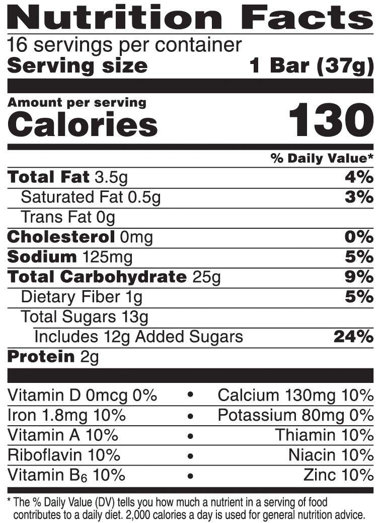 Kellogg's Nutri-Grain, Soft Baked Breakfast Bars, Blueberry, Made with Whole Grain, Value Pack, 20.8 oz (16 Count) (Pack of 2)