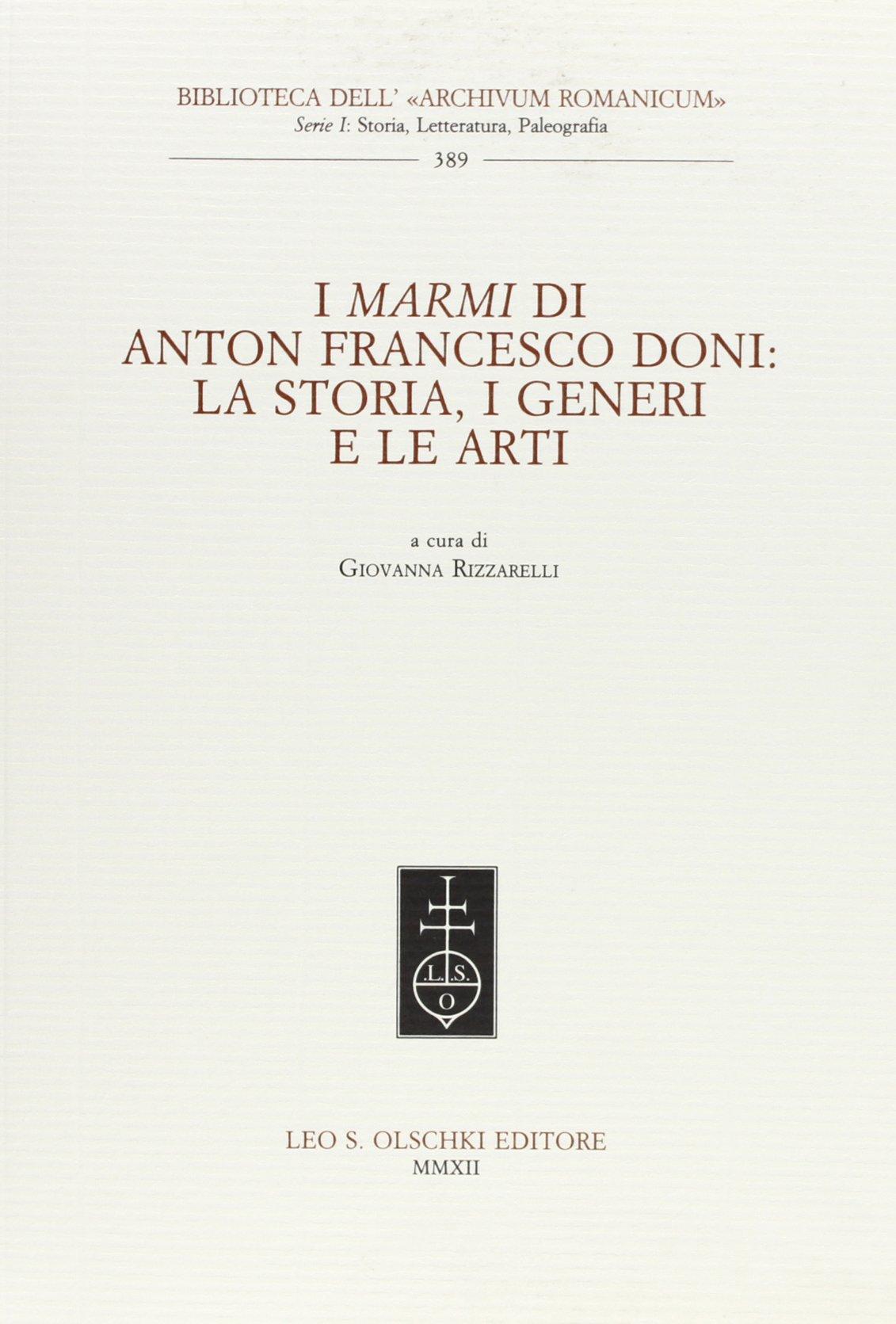 Anton Francesco Doni I Marmi