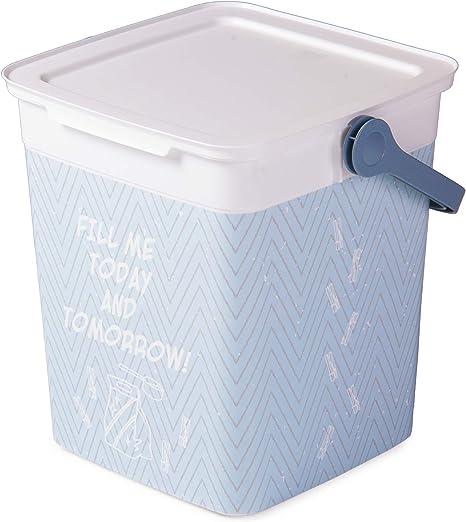Ondis24 – Caja para detergente, 9 L, Cubo para detergente, Ligera ...