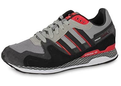 adidas Originals Oregon Ultra Noir Gris Rouge Gris Gris, 47 1 3