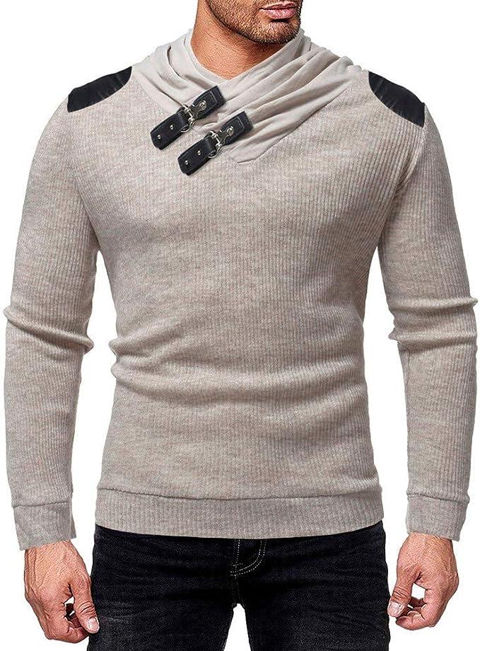 Palarn Mens Fashion Sports Shirts Mens Spring Winter Stand Collar Fashion Casual Short Sleeve Button Slim Top