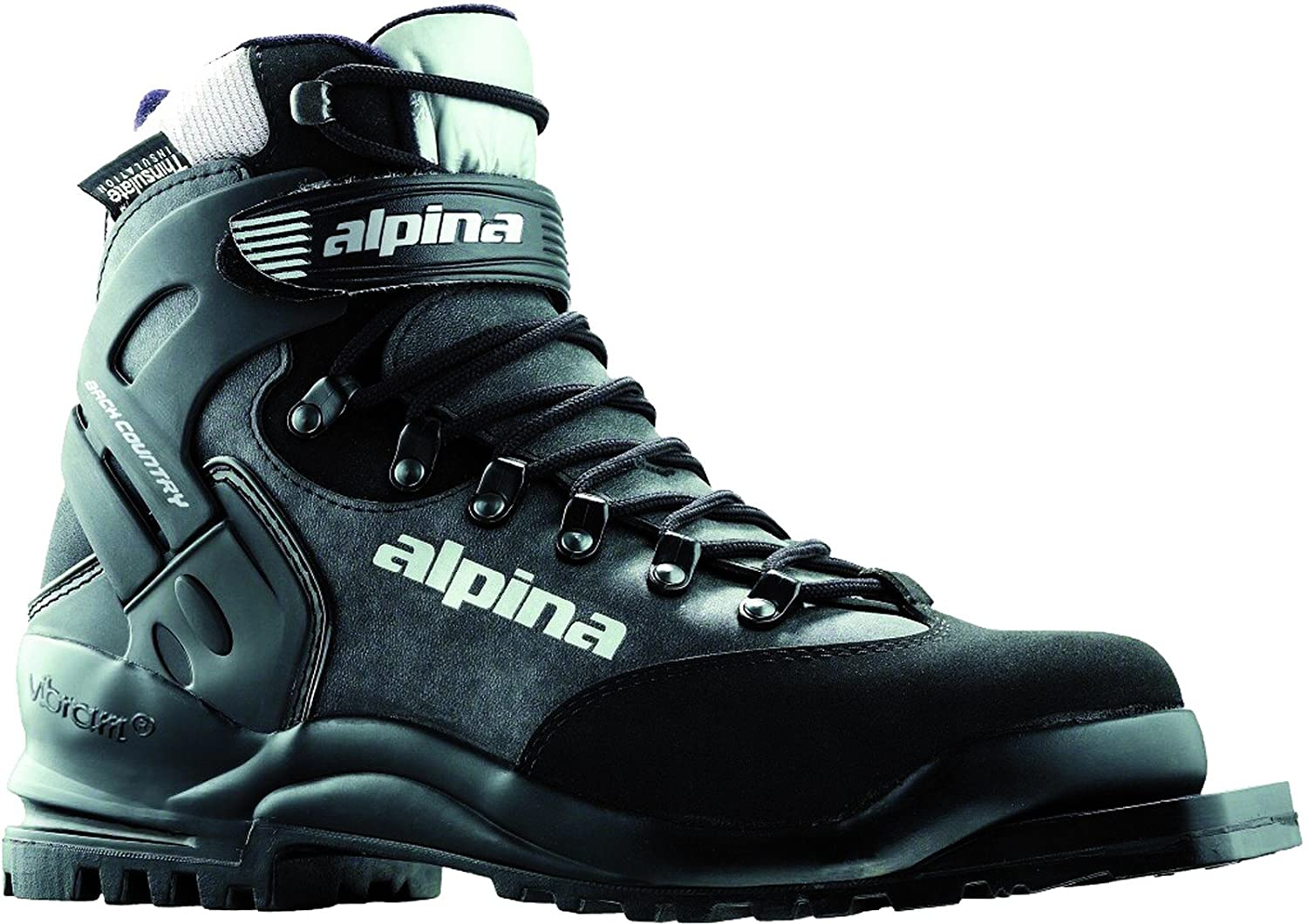 Amazon.com : Alpina BC 1575 Back-Country Nordic Cross-Country Ski ...