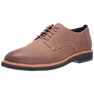 Cole Haan Men's Morris Plain Ox:Taupe Nubuck Oxford | Oxfords