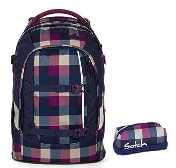 b3b501a49eaff satch pack by ergobag 2er Set Schulrucksack   Penbox Berry Carry ...