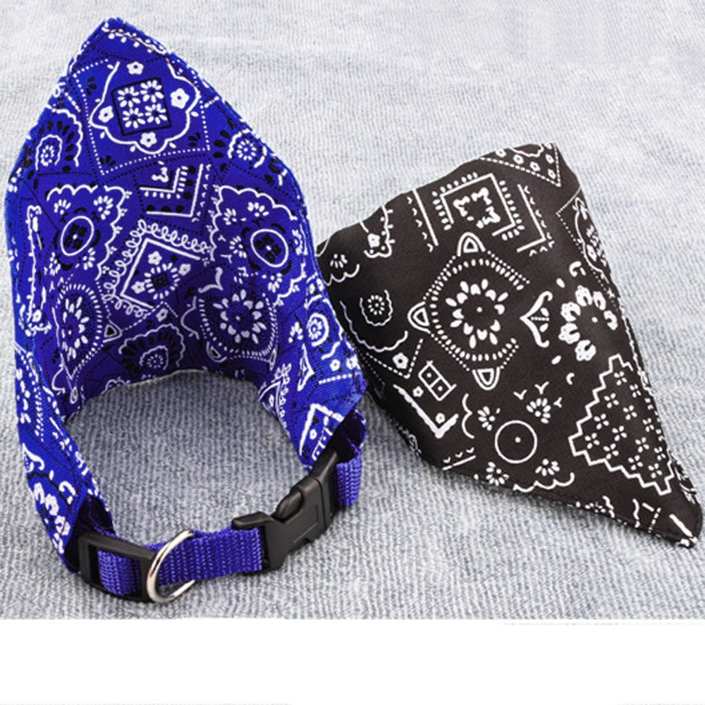 Glumes Pet Dog Cat Bandana Triangle Bibs Scarf Pet Dog Cat Kerchief Neckerchief Set Accessories Suitable for Small&Medium&Large Pet Dog Cat