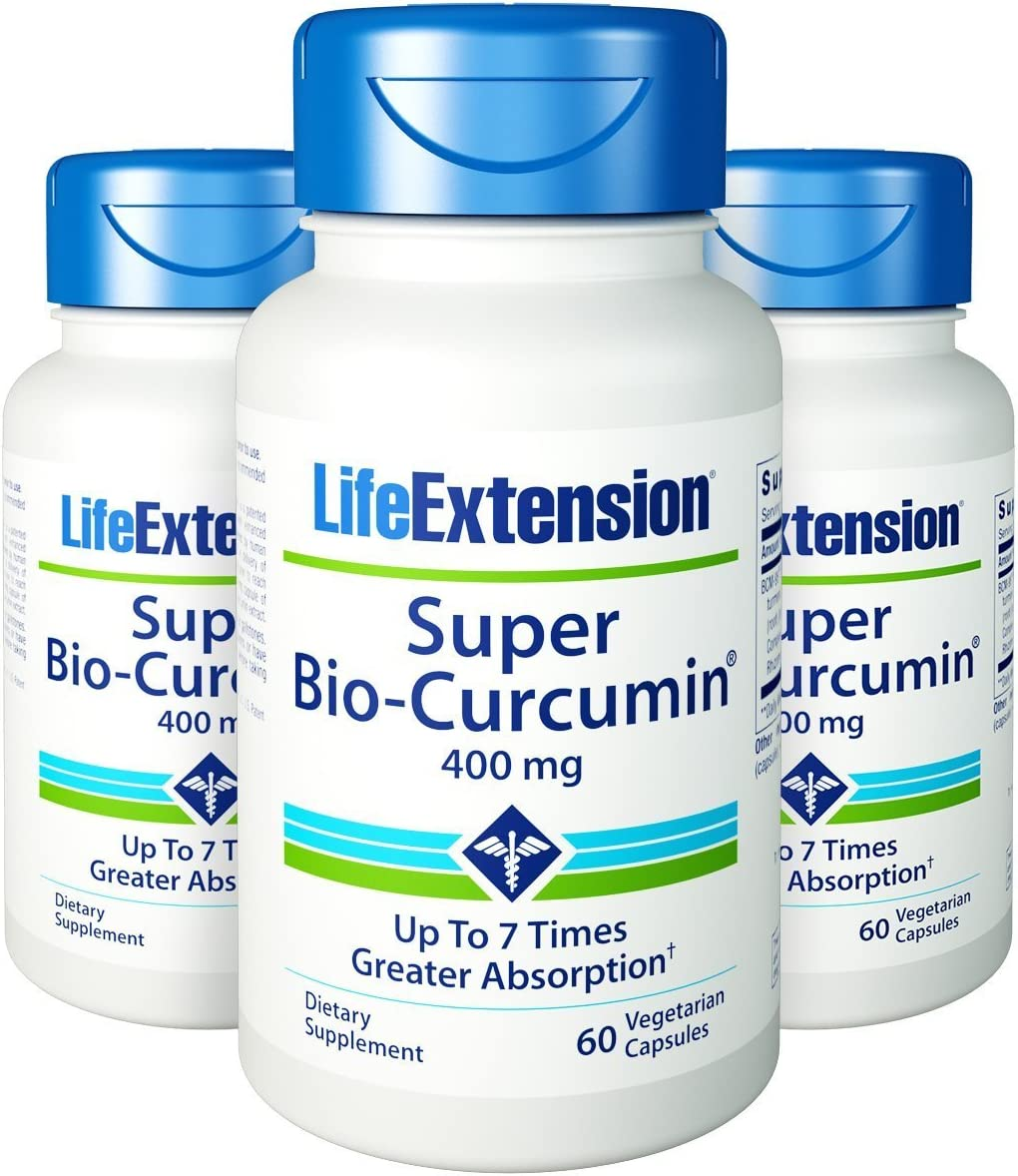 Super Bio-Curcumin 400mg 3 Pack