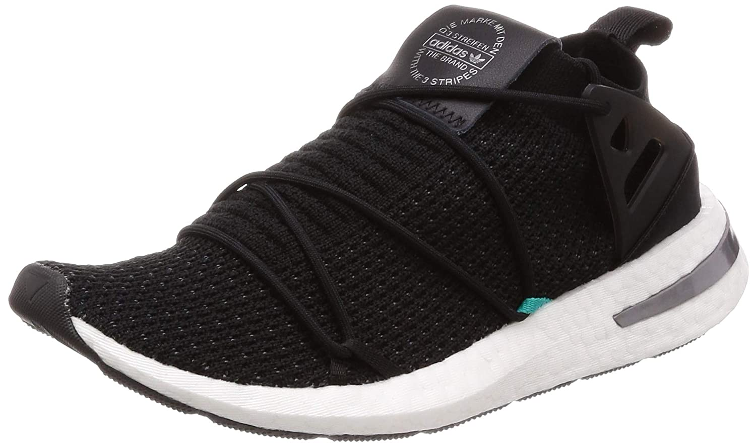 the best attitude 89c8c 9340e Amazon.com  adidas Originals Womens Arkyn Primeknit Running Shoes Black  in Size US 8.5  Running
