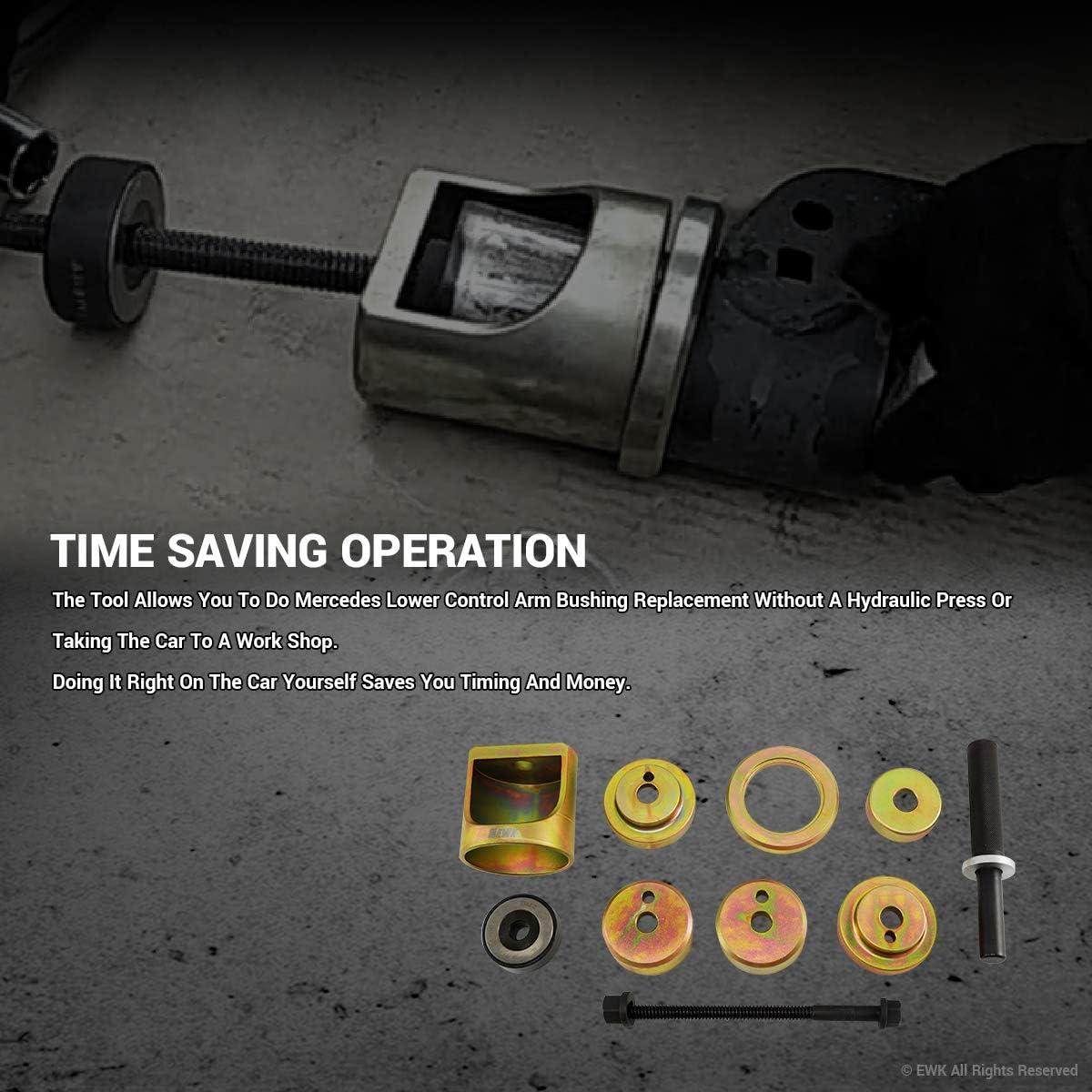 EWK Lower Control Arm Bushing Tool for Mercedes Benz W202 R170