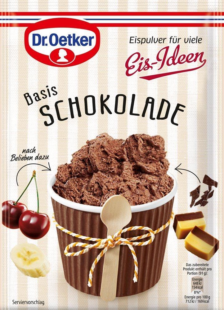 Dr. Oetker Ice Cream Powder, 116 g (2er pack)