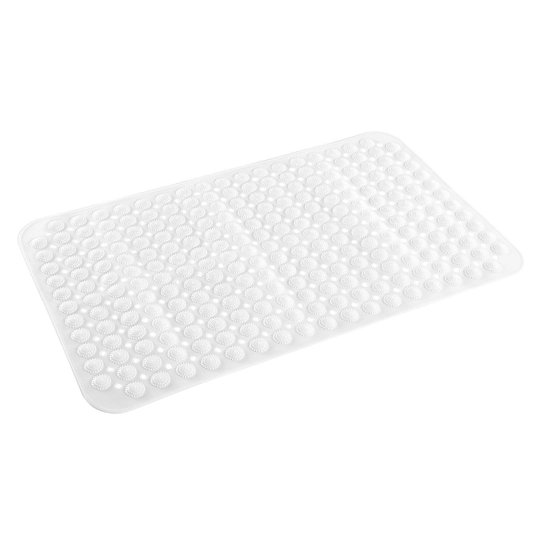 Non Slip Bath or Tub Mat Anti Bacteria Silicone Bathroom Mat For Elderly & Children