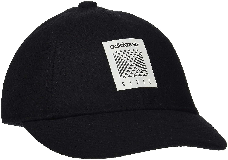 bd4abfbe adidas Kid's Atric Baseball Cap, Black, One Size: Amazon.co.uk: Sports &  Outdoors