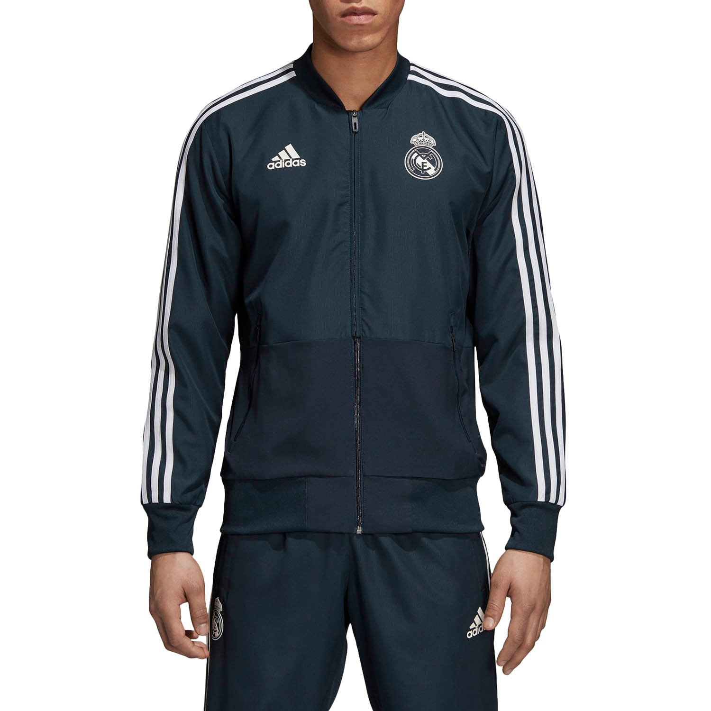 adidas Veste de présentation Real Madrid 2018/19: Amazon.es ...